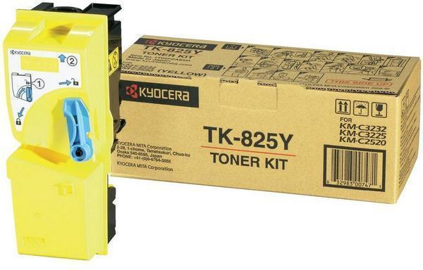 Kyocera TK-825Y Toner Yellow Original 0