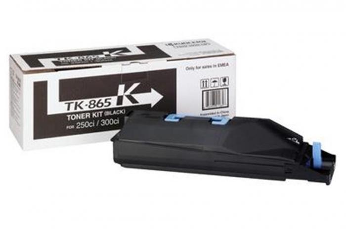 Kyocera TK-865K Toner Negru Original 0