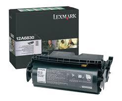 Lexmark 12A6830 Toner Negru Original 0