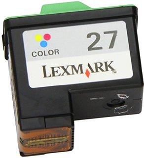 Lexmark 27 (col) cartuş compatibil 0
