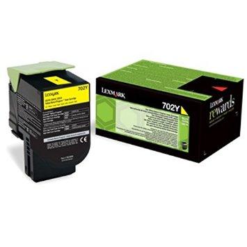 Lexmark 70C20Y0 Toner Yellow Original 0