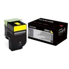 Lexmark 80C0H40 Toner Yellow Original 0