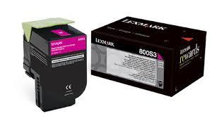 Lexmark 80C0S30 Toner Magenta Original 0