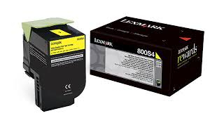 Lexmark 80C0S40 Toner Yellow Original 0