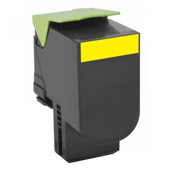 Lexmark 80C0X40 Toner Yellow Original 0