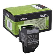 Lexmark 80C20K0 Toner Negru Original 0