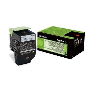 Lexmark 80C2SK0 Toner Negru Original 0
