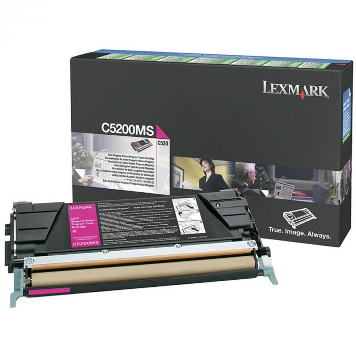 Lexmark C5200MS Toner Magenta Original 0