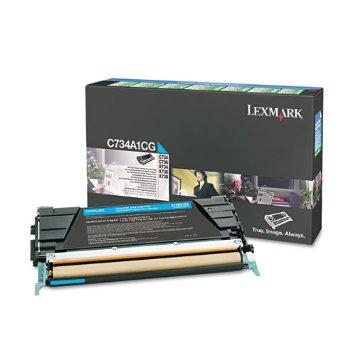 Lexmark C734A2CG Toner Cyan Original 0