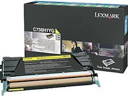 Lexmark C736H1YG Toner Yellow Original 0
