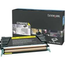 Lexmark C736H2YG Toner Yellow Original 0