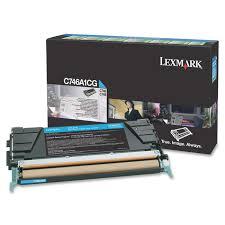 Lexmark C746A1CG Toner Cyan Original 0