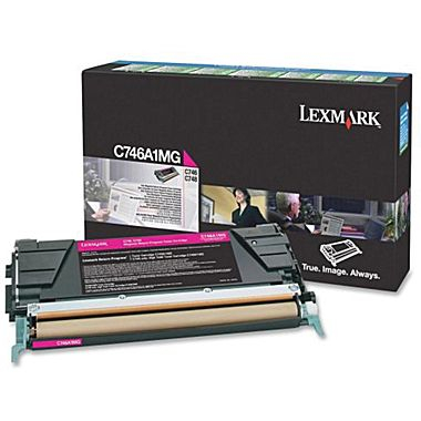 Lexmark C746A1MG Toner Magenta Original 0