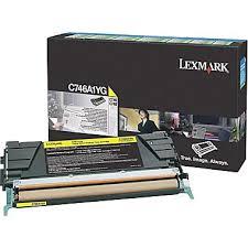 Lexmark C746A1YG Toner Yellow Original 0