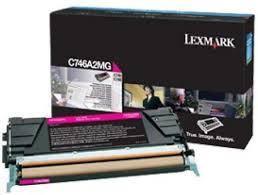 Lexmark C746A2MG Toner Magenta Original 0