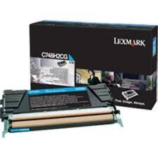 Lexmark C748H2CG Toner Cyan Original 0