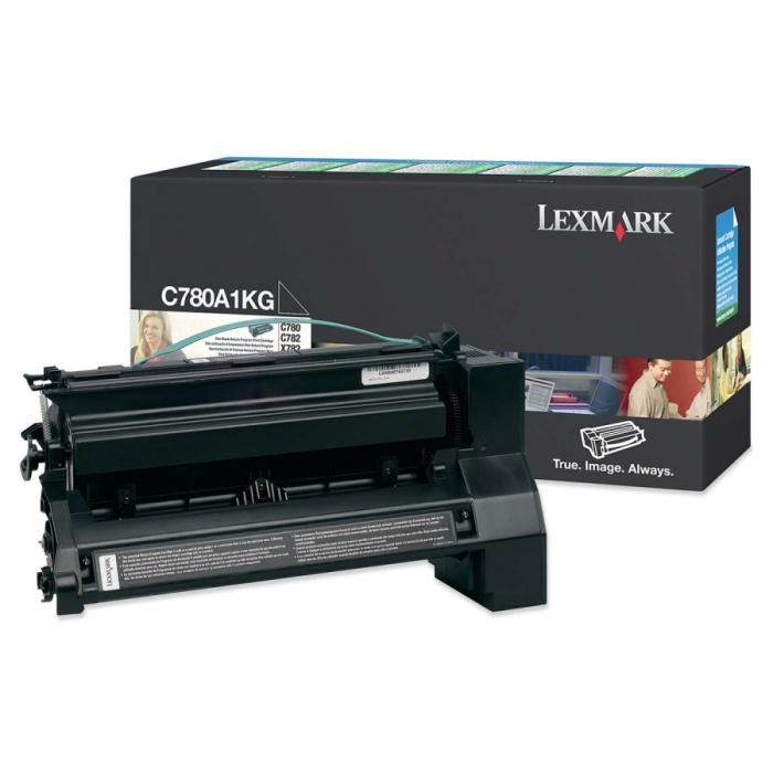 Lexmark C780A1KG Toner Negru Original 0