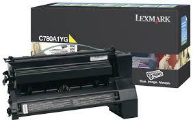 Lexmark C780A1YG Toner Yellow Original 0