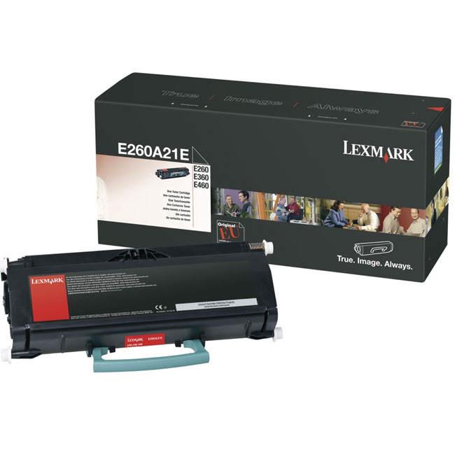 Lexmark E260A21E Toner Negru Original 0