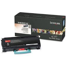 Lexmark X463H21G Toner Negru Original 0