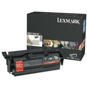 Lexmark X651H21E Toner Negru Original 0