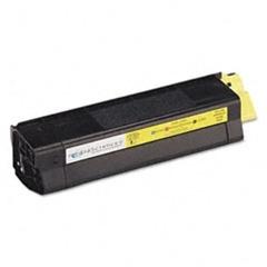 Oki c3100 / 42804541 (y) toner compatibil 0