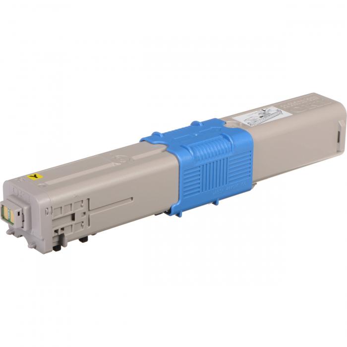 Oki c332 / 342 / 46508173 (y) toner compatibil 0