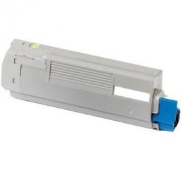 Oki c5600/c5700 / 43381905 ( y ) toner compatibil 0
