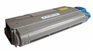 Oki c5650/c5750 / 43872305 ( y ) toner compatibil [0]