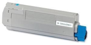 Oki c5650/c5750 / 43872307 ( c ) toner compatibil 0