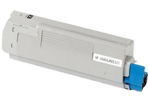 Oki c5850 / 43865724 (bk) toner compatibil 0
