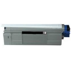 Oki c610 / 44315308 (bk) toner compatibil 0