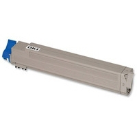 Oki c801/c821 / 44643001 (y) toner compatibil 0