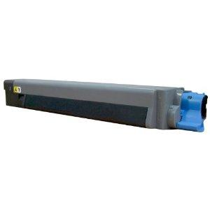 Oki c8600 / 43487733 (bk) toner compatibil 0