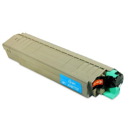 Oki c8600 / 43487735 (m) toner compatibil 0