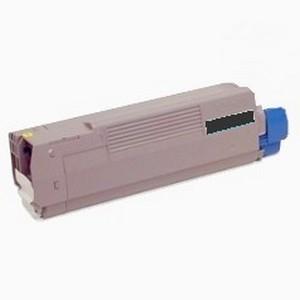Oki c8600 / 43487736 (y) toner compatibil 0