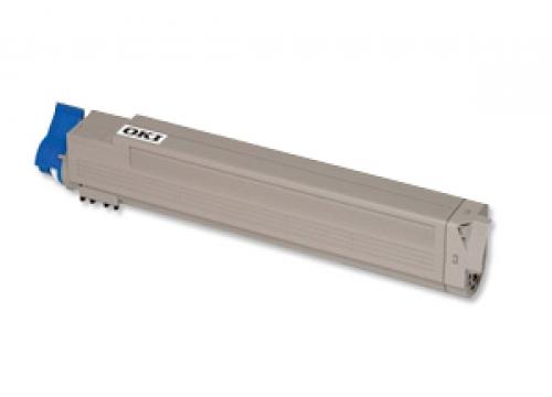 Oki c9600 / 42918916 (bk) toner compatibil 0