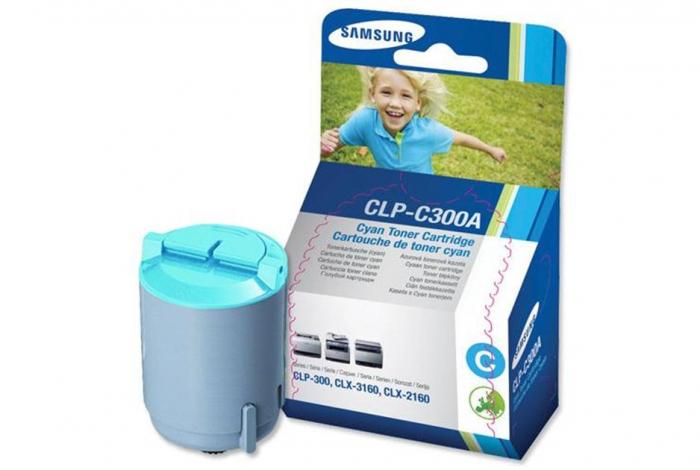 Samsung CLP-C300A Toner Cyan Original 0