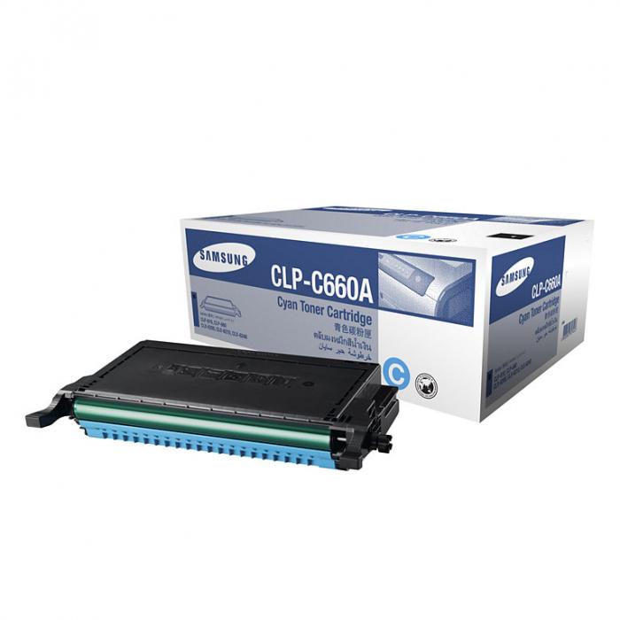 Samsung CLP-C660A Toner Cyan Original 0