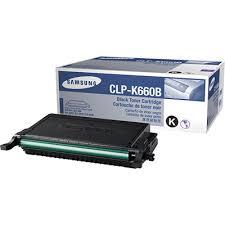 Samsung CLP-K660B Toner Negru Original 0
