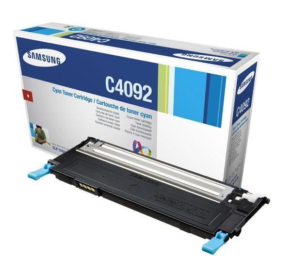 Samsung CLT-C4092S Toner Cyan Original 0