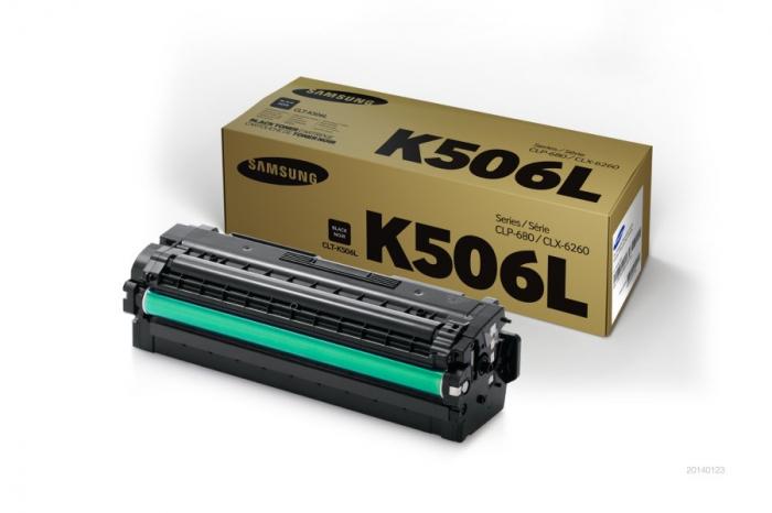 Samsung CLT-K506L Toner Negru Original 0