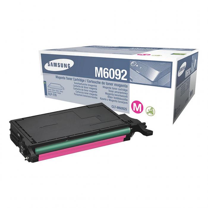Samsung CLT-M6092S Toner Magenta Original 0