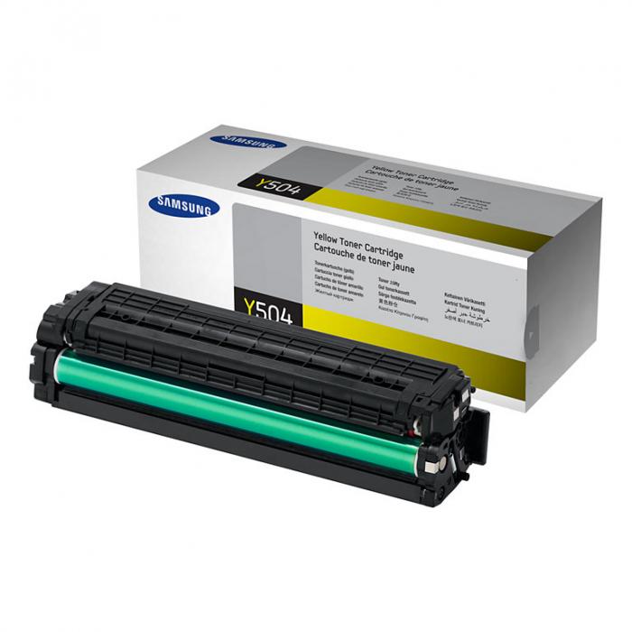 Samsung CLT-Y504S Toner Yellow Original 0