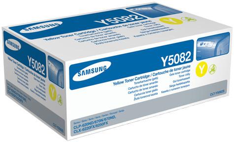 Samsung CLT-Y5082S Toner Yellow Original 0
