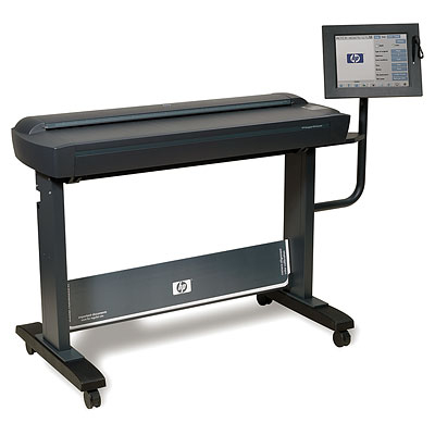 Scanner hp designjet hd cq654b 0