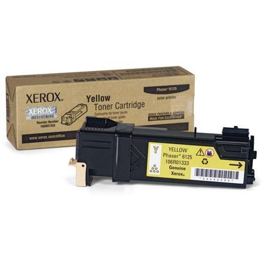 Xerox 106R01458 Toner Yellow Original 0