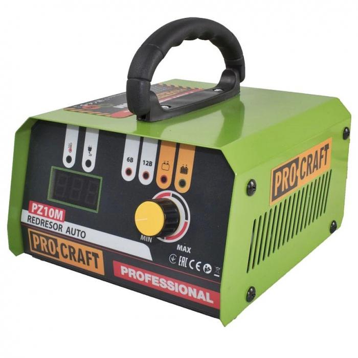 Incarcator invertor auto ProCraft PZ10M, redresor [0]