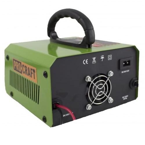 Incarcator invertor auto ProCraft PZ10M, redresor [2]