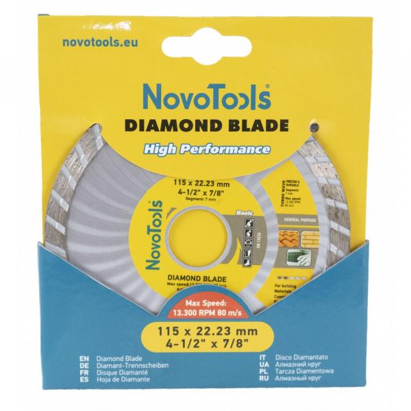Disc diamantat NovoTools Basic Turbo [2]